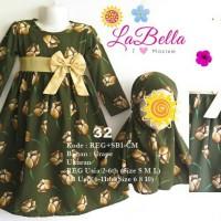 Baju Gamis Anak LaBella Usia 2-6 Tahun (REG1-CM-0632) Murah