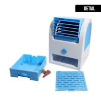 Ac Mini Usb Portable Double Blower / Kipas Angin / Ac M Diskon