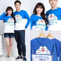 Kaos Couple Doraemon Stand By Me Lengan Panjang - Baju Pasangan