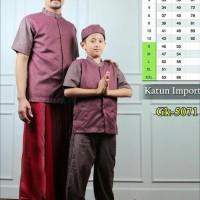 Baju Koko Anak/Koko Couple/Koko Ayah Anak Gk-5071