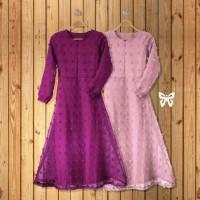 MAXI DRESS HIJAB RUBIAH PARTY DRESS LONG DRESS PESTA WANITA MUSLIM GA
