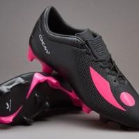 Sepatu Bola Concave original Volt + FG Black Pink VPFGBPX655