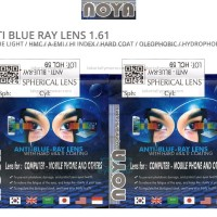 Lensa NOYA Anti Blue Ray Light 1.61 - (Max Sph-10.00 Cyl-2.00)