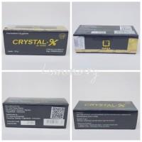 CRYSTALX CRYSTAL X CRYSTAL-X KRISTAL X ORIGINAL 100%