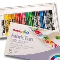 Pentel Fabric Fun 15 Colors