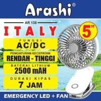 KIPAS ANGIN ARASHI ITALY AR138  EMERGENCY FAN