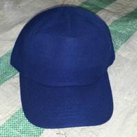 67b8c923b422a topi polos laken navy biru tua