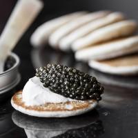 Russian Caviar House Imperial Ossetra Caviar Telur Ikan Sturgeon Hitam