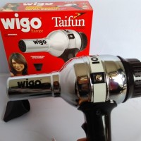 Wigo Taifun Germany Ionic Anti Static 1000 Watt Silver Hair Dryer ORI 921c719936