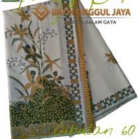Harga kain batik pekalongan primisima halus cibulan 60 hijau unggul | Hargalu.com