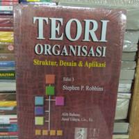 buku teori organisasi. krangan stephen P. Robbin