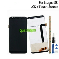 LCD LEAGOO S8 parts Replacement HP 4G