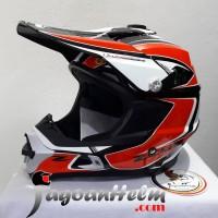 ZEUS Helm ZS951 CROSS | Black RR11 RED | ZS 951 MotoCross Trail