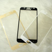 TEMPERED GLASS COLOR WARNA SAMSUNG J7 DUO J7 PRIME FULL COVER