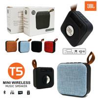 JBL Mini Speaker Wireless T5 Speaker Bluetooth Model Dompet