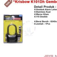 Dijual Krisbow K 101 Dh Jm Gembok Alarm / Alarm Padlock / Gembok Anti
