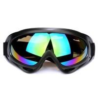 Kacamata Goggle Ski Tactical Sepeda Motor Pelindung Mata Lensa Wide f68861a966