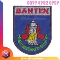 Logo Bedge Pramuka Bordir Kwarda Kwartir Banten
