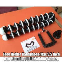 Gorillapod Flexible Tripod Jumbo Untuk DSLR Mirrorless Gopro HP Dll