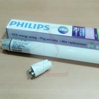 10 Pcs PHILIPS Ecofit Lampu Led TL Tube T8 16w Putih ( COOL DAYLIGHT )