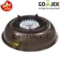 HOCK MUTIARA SILVER 100MV Kompor Gas 1Tungku Burner Kun Limited