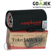 ADVANCE T101BT Speaker Portable BLUETOOTH 5 inch Limited