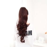 HAIR CLIP BIG LAYER PONYTAIL MODEL BANDO CANTOL PANJANG kode 8087A