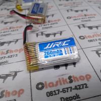 baterai jjrc / eachine e010 / E011  / h36 upgread 260mah ori