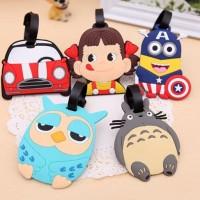 Jual KHM087 Tag koper dan tas ukuran mini motif lucu Luggage bag tag Murah