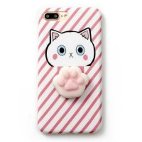 Case Squishy Cat Claw for iPhone 6/6s - Iphone 6 Plus / 6S Plus - Pink