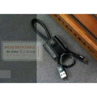 Remax Moss Series Kabel Lightning- RC-079i - Hitam