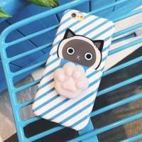 Case Squishy Cat Claw for iPhone 6/6s - iPhone 6/6s - Biru