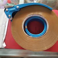 Tape Dispenser Besi / Tape Cutter Besi / Pemotong Lakban Besi Jumbo