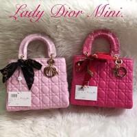 Tas Lady Dior Dove 24Cm Free Syal Import Murah Terjamin