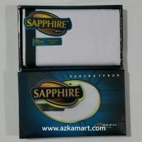 Sarung Sapphire Warna Putih Polos Promo