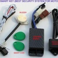 Hot Produk Alarm Motor Honda Beat Pop Fi Injection I-Max Digital Smart