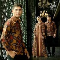 BAJU Batik COUPLE BATIK ZAFIR / MAXI / BUSANA MUSLIM
