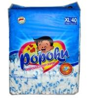 Harga popok bayi tipe perekat popoku size xl isi | Hargalu.com