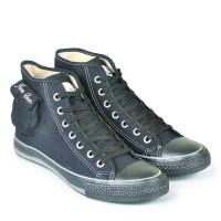 Sepatu All Star Warior Anak Sekolah Warna Hitam Murah B PROMO