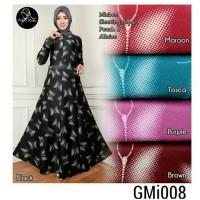 Gamis Dress maxi Kupu Gmi 008 Misbee Khimar wolfis Murah syarii murah