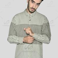 Baju koko / kemeja muslim panjang rabbani zuhha