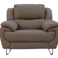 Lyle Sofa 1 Seater Half Leather Sofa
