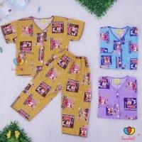 Murah Banget Piyama Kancing uk 6-7 th / Piyama Murah Baju Tidur Celana