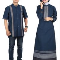 Jual Baju Couple / Sarimbit Batik Muslim Couple / koko gamis baju lebaran Murah