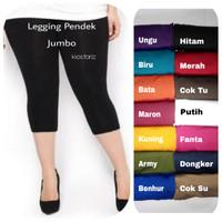 Legging Jumbo Pendek / Legging Jumbo 7/8 / Legging Jumbo Spandex
