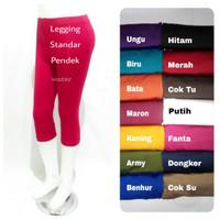 Legging Spandex Pendek Std / Legging Standar / Legging