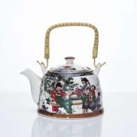 Teko Jepang Capodimonte / Keramik Kualitas Tinggi