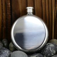 Botol Minum Mini Pocket Stainless Wine / Bir Bulat 50 oz