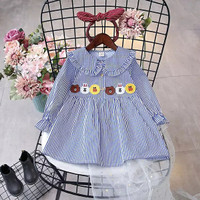 GA2632 LIN BLUE (BAJUKIDDIE) BAJU ANAK LINE moon brown cony sally
