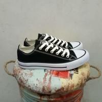 Sepatu Converse Classic All Star Basic Black White Original Premium